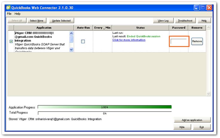 Integration with Quickbooks Desktop version | Vtiger Help
